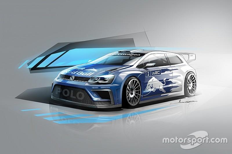 Volkswagen zeigt Designstudie des neuen Rallyeautos für die WRC 2017