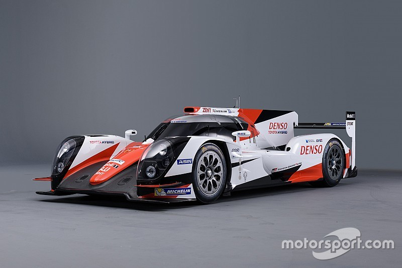 New look for Toyota LMP1 car