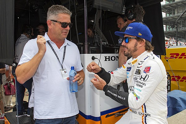 "De Ferran: ""I'd love to work with Alonso at Indy again"""