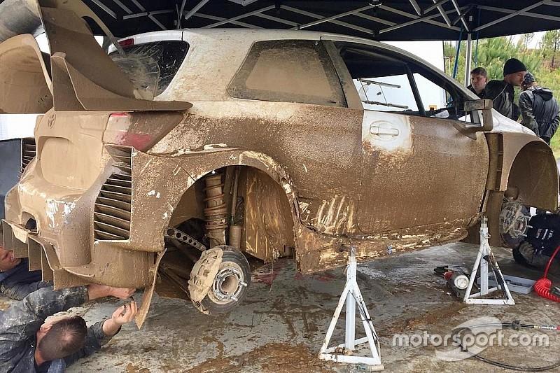 Vivimos una jornada de test en Portugal con el Toyota Yaris WRC 2017