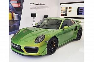 Automotive Nieuws Lak op deze Porsche 911 duurder dan de snelste Cayman