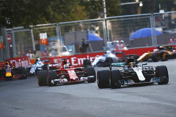 Formel 1 News F1 2017 in Baku: Strafe gegen Vettel nach Kollision mit Hamilton