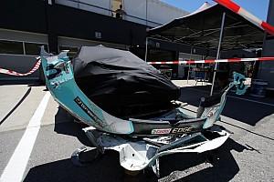 TCR Breaking news Huff escapes injury after huge Salzburgring crash