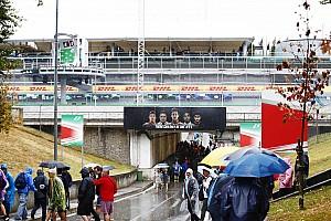 Formula 1 Practice report GP Italia: Hujan deras, sesi FP3 ditunda
