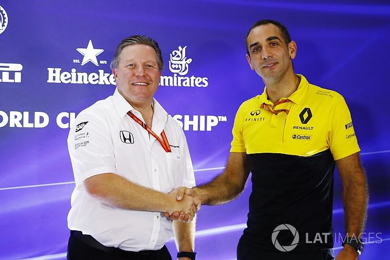 """McLaren puede ser """"una referencia"""", dice Renault tras confirmar el acuerdo"""