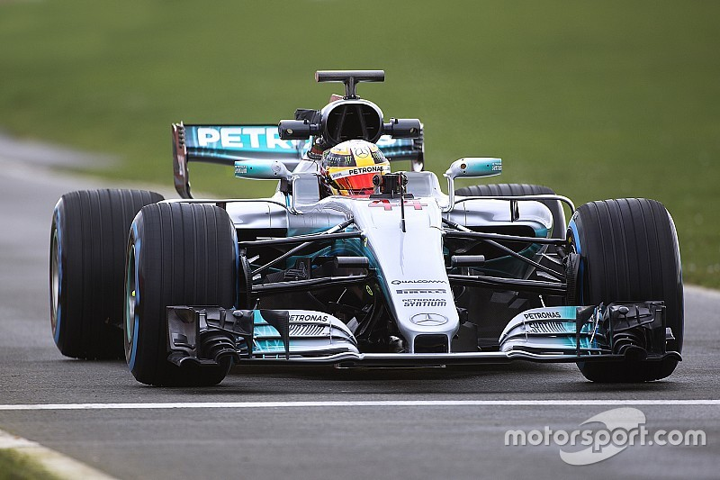 Bildergalerie: Der neue Mercedes W08 für die Formel 1 2017