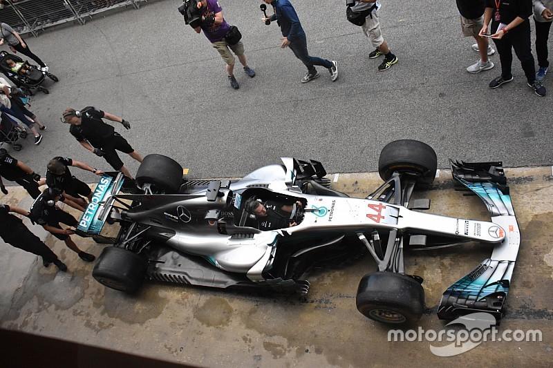 Técnica: lo que hay detrás de las ingeniosas y efectivas mejoras de Mercedes