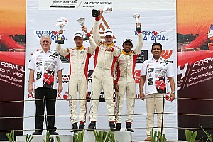 Formula 4 SEA Race report Sentul F4: Gowda takes two podium finishes, Nalwalla gets double top five