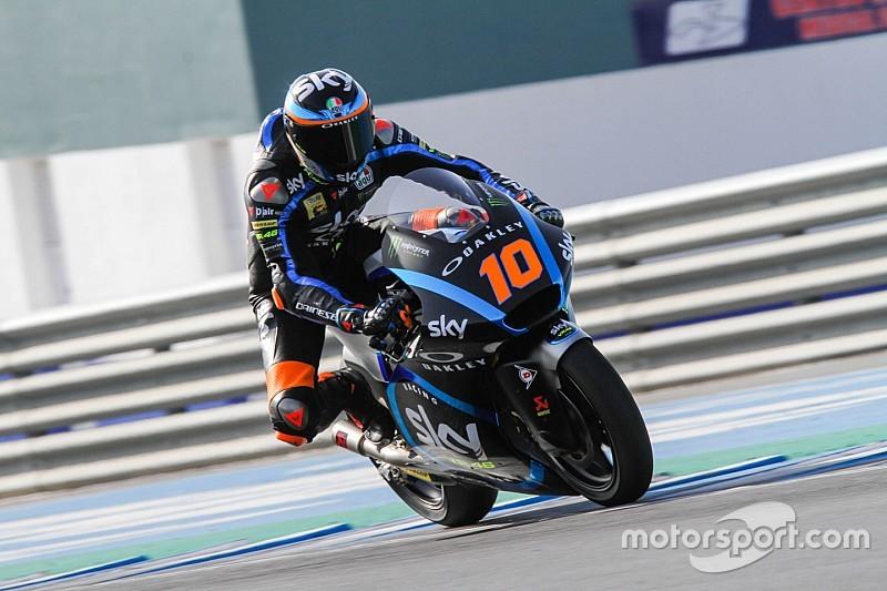 Tes Moto2 Jerez: Marini teratas, Dimas Ekky terbawah