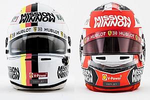 In beeld: Alle nieuwe Formule 1-helmen voor 2019