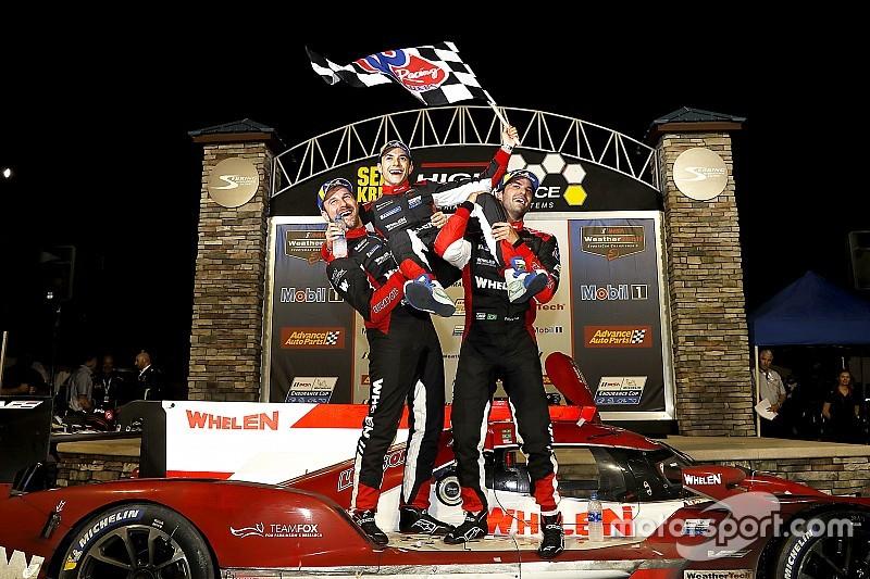 Экипаж Насра выиграл «12 часов Себринга», Хартли вновь поднялся на подиум