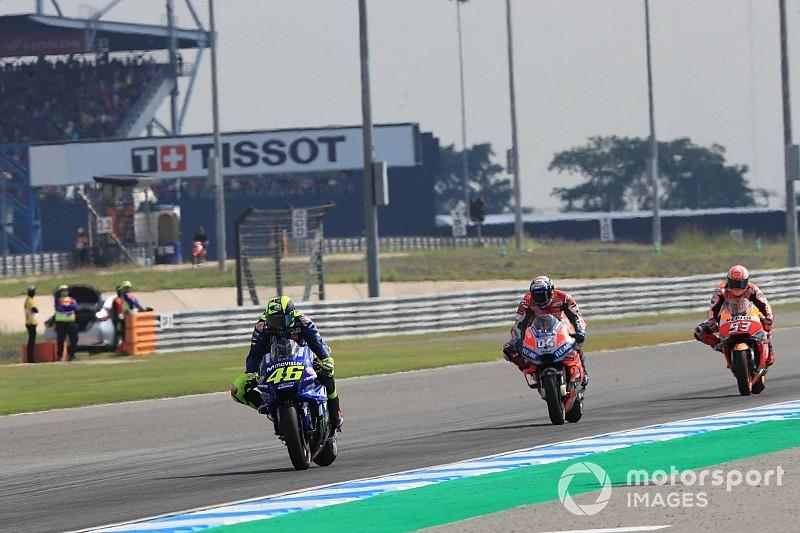 Rossi: Yamaha, Tayland sonucuna göre kendini kandırmamalı