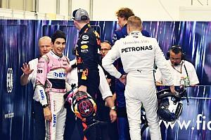 Verstappen: reação de Ocon foi o motivo dos empurrões