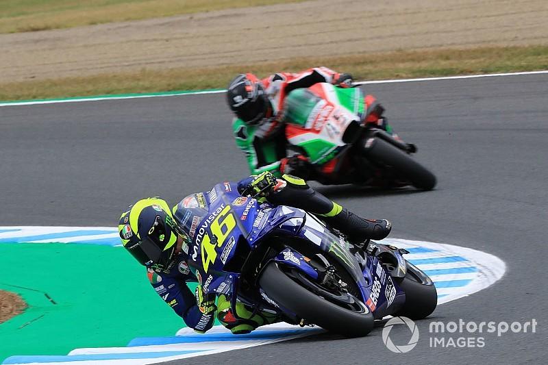 MotoGP FT3 in Motegi: Valentino Rossi auf den letzten Drücker in den Top 10