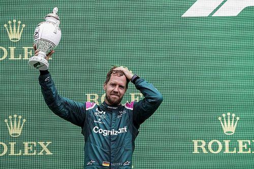 Resmi: Aston Martin, Vettel'in diskalifiyesi için temyize gidiyor!