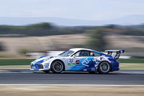 Carrera Cup Italia, Vallelunga: Quaresmini su Giardelli nelle libere