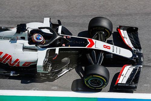 Gyenge a Haas, Magnussen az esőben reménykedik, Grosjean abban, hogy nem kell használniuk a módosításokat
