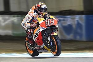 MotoGP Репортаж з практики Гран Прі Японії: Маркес виграв скорочену розминку