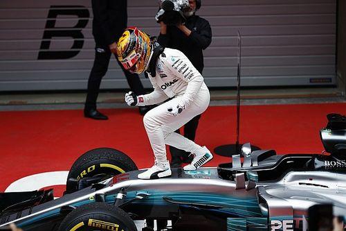 Formel 1 2017 in Shanghai: Lewis Hamilton triumphiert vor Sebastian Vettel