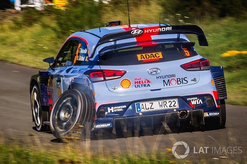 WRC-Rallye Deutschland: Ausfall von Neuville setzte Ogier unter Druck