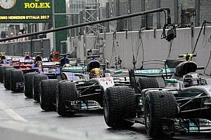 Formula 1 Top List Italian GP: Starting grid in pictures