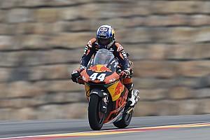 Moto2 Reporte de calificación Oliveira, pole con suspense tras ver anulado su tiempo