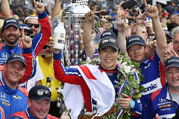 IndyCar Reporte de la carrera Sato se llevó el triunfo en las 500 de Indianápolis