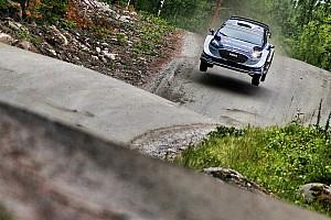 WRC Leg report Finland WRC: Tanak grabs early lead for M-Sport