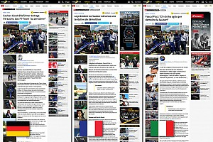 Motorsport.com startet dreisprachige Plattform für die Schweiz