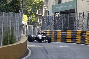 F3 Qualifying report Macau GP:  Russell takes sensational pole amid several red flags