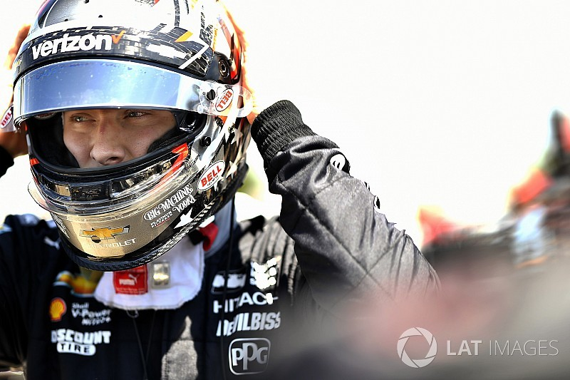 Road America IndyCar: Newgarden on top again in FP2, Celis shunts