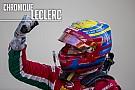FIA F2 Chronique Leclerc - La saison 2017 a changé ma carrière
