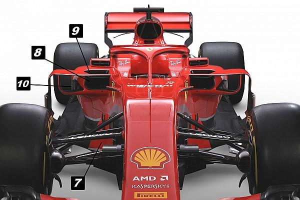 Formula 1 Özel Haber Teknik analiz: Ferrari SF71H