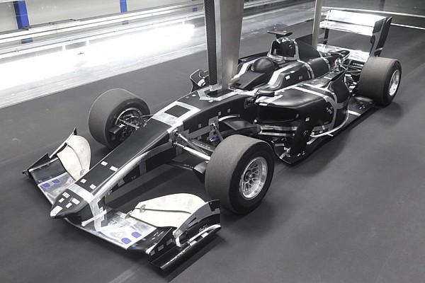 Super Formula Breaking news Mobil baru Super Formula jalani tes terowongan angin