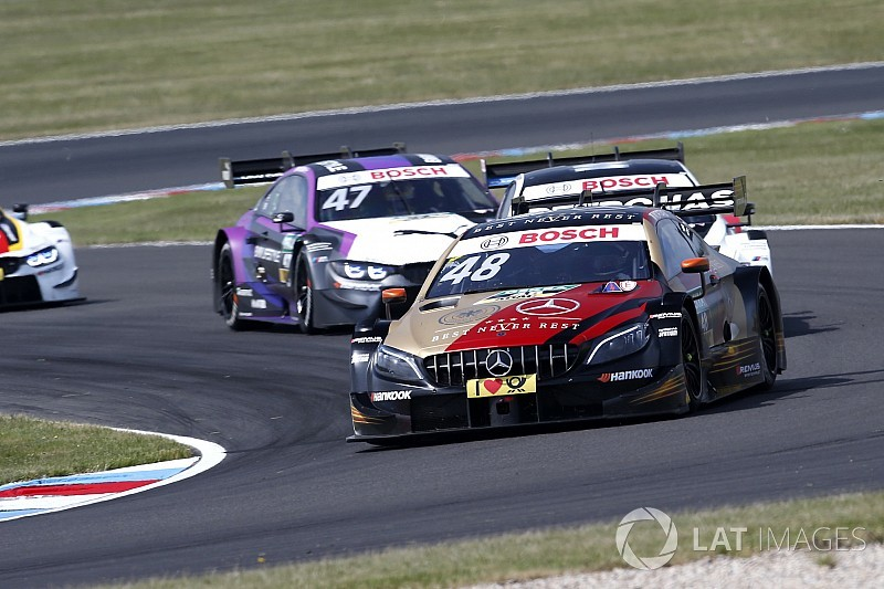 Lausitz DTM: Mortara wins, Rast suffers massive accident