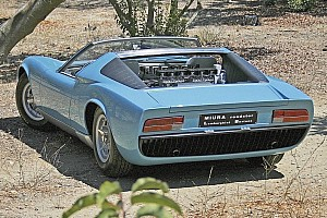 Automotive Breaking news A look at the world's only Lamborghini Miura Roadster