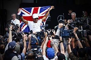 Формула 1 Самое интересное «Пончики», шампанское и британский флаг: Хэмилтон празднует титул