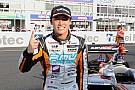Le Mans Super Formula champion Kunimoto in Toyota Le Mans frame