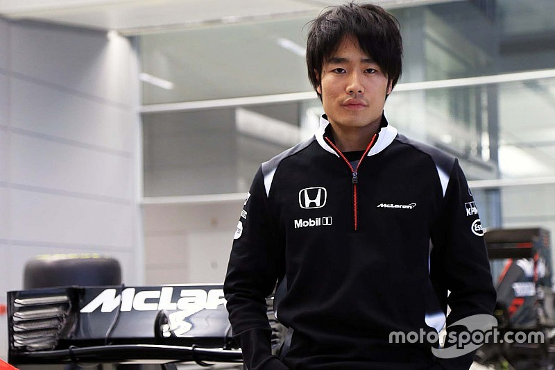 Matsua named as McLaren F1 test driver