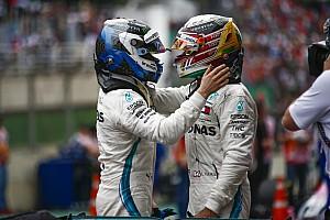 Mercedes martèle l'absence de hiérarchie entre Hamilton et Bottas