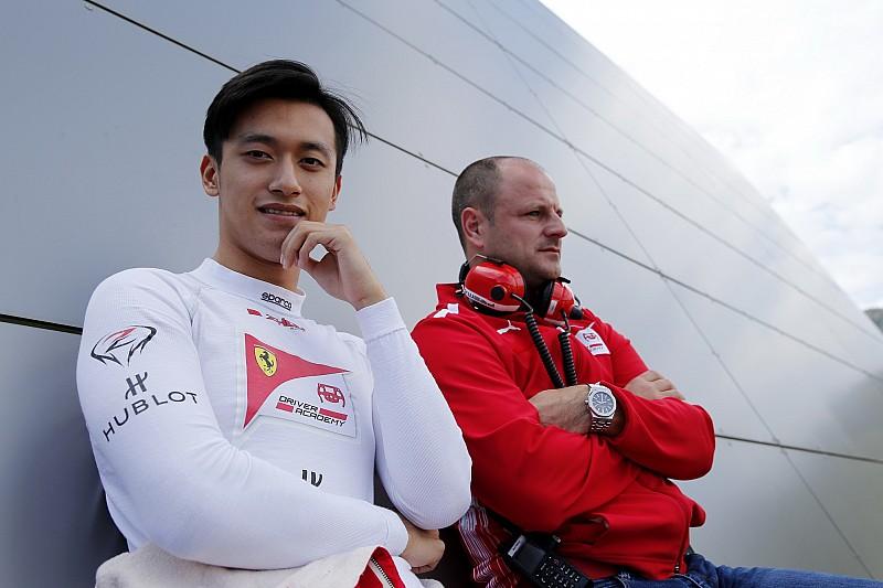 周冠宇将与米克·舒马赫一起参加F2测试