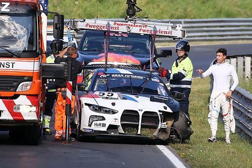 Unfall von BMW M4 GT3 auf der Nürburgring-Nordschleife