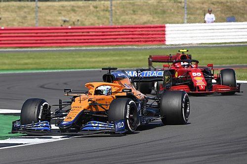 塞恩斯:迈凯伦是F1最难超越的赛车之一