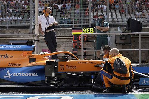 Ennyit veszített körönként Ricciardo a Magyar Nagydíjon a sérült autójával