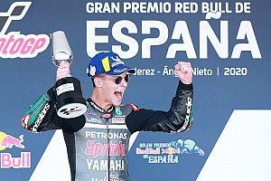 """Les """"sacrifices"""" de Quartararo récompensés par ses succès en MotoGP"""