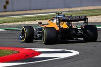 A McLaren jól látható fejlesztése Silverstone-ban