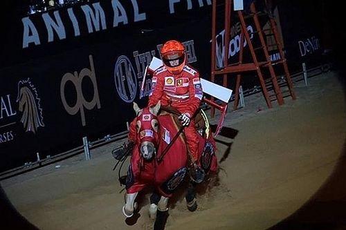 Schumacher, Gina Maria galoppa nel segno di papà Michael