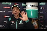 Petronas muestra el trailer de la presentación de Rossi y Morbidelli