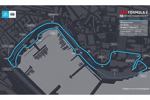 Fórmula E correrá em versão adaptada do circuito de F1 em Mônaco