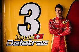 FIA F2 News Formel 2: Louis Delétraz zündet… seine Internetseite